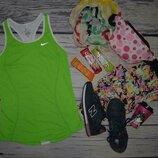 XS Женская фирменная спортивная майка Nike найк оригинал dri-fit