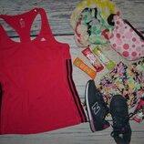 2-14/М женская фирменная спортивная майка для спорта оригинал Адидас Adidas climalite
