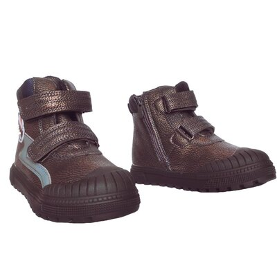 Теплые ботинки, р. 27,28,29,30. Высокие кеды с защитой носка мальчикам