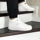 Зимние кроссовки Nike Air Force белый 8474
