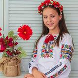 Вишиванка для дівчинки Казкова