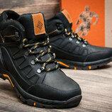 мужские зимние ботинки Columbia натур кожа, 3 цвета