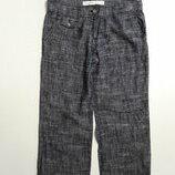 Фирменные полульняные брюки штаны XL
