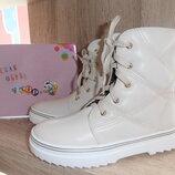 Дёшево стильные деми ботиночки Y-TOP наличие все рр. 33-37