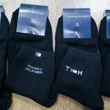 Носки махровые Tommy Hilfiger черные. Турция.