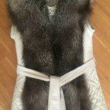 Красивая курточка трансформер женская - курточка-жилетка