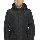 Демисезонная мужская куртка отличного качества sku-01 синий и черный