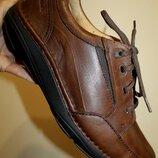 46 - 47 разм. Мягкие туфли Clarks active air. Кожа снаружи и внутри. Длина по внутренней стельке -