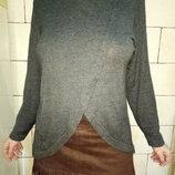 Тонкий серый свитер размер 50 или L
