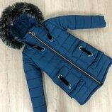 Зимняя куртка на девочку Келли