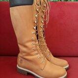 Сапоги Timberland Women's 14-Inch Premium Lace Waterproof Boots р.40
