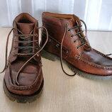Ботинки кожаные Samuel Windsor муж разм 42,5 Англия, новые