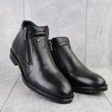 Мужские зимние ботинки из натуральной кожи 135