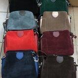 Женская Сумочка клатч замшевая на плечо сумка в стиле ZARA.