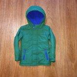 Теплая деми куртка m&s, будет на 2-4 г