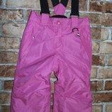 термо штаны зимние лыжные 1-2 года Lupilu сток
