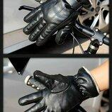 Перчатки мужские очень теплые Чёрные код 103