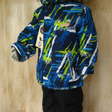 Зимний термо костюм на мальчика Куртка и комбинезон 1,2,3 года Аляска
