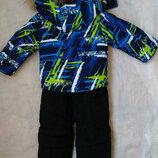 Зимний термо костюм на мальчика Куртка и комбинезон 2,3 года Аляска