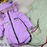Куртка Зима удлиненная