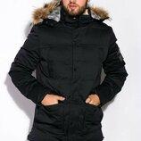 Мужская зимняя тёплая куртка больших размеров чоловіча зимова парка великих розмірів