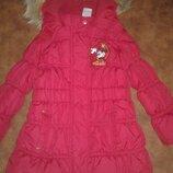 курточка на девочку, еврозима, рост98, на 3-4 года на флисе и синтепоне