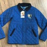 Куртка для девочки 7-8 л Disney на меху, куртка для дівчинки Дісней .