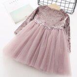 Нарядное платье для девочки святкове плаття платье на девочку празничное 460114