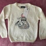 Кофта свитер джемпер для девочки 7 л cool club . Светр для дівчинки з Польщі 122 см / 7 років