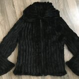 Куртка кролик. Вязаной кролик, курточка із в язаного кроля. Розмір L/Xl