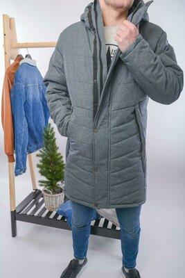 Продано: Топ качество. Зима Стильная мужская куртка парка Mollton, серый Mollton Gri