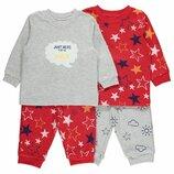Пижама с принтом Red Star фирма George, поштучно