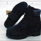 Без меха, ботинки зимние женские, мужские, р 36-45, YOF11952
