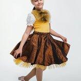 Детский карнавальный костюм для девочки Белка 110-128р