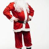Карнавальный костюм мужской Санта Клаус