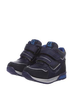 Ботинки для мальчика Clibee 21, 22, 23, 25, 26 р Синий P268 SIN