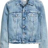 Стильная короткая женская джинсовая куртка, пиджак, жакет River Island