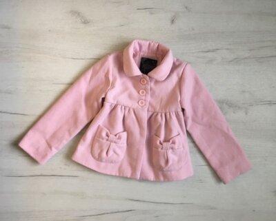 пальто для девочки 3-4 г, пальто на дівчинку 4 роки. по бірці на 4 роки
