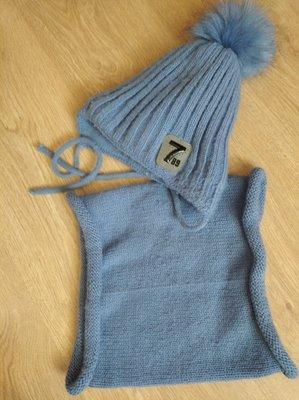 Зимняя шапка для мальчика Тм Амбра, Польша, б/у