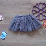 Блестящая фатиновая юбка - пачка Primark