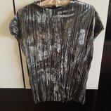 Велюровая бархатная кофта блуза ZARA