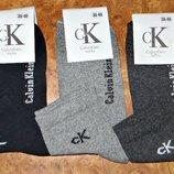 Носки подростковые Calvin Klein демисезонные стрейч средние р.36-40 Турция.