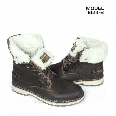 Мужские кожаные зимние ботинки Belvas Comfort Shoes