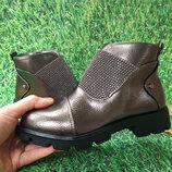 Демисезонные ботинки для девочки, код 771