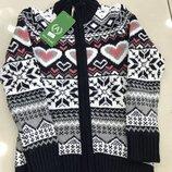 Теплые фирменные кофты для девочек Тм ADA, Турция, 6-13 лет в наличии