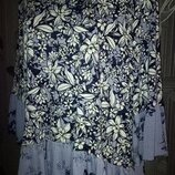 Красивая Нарядная Блуза туника на красивые формы Вискоза