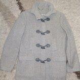 Демисезонное шерстяное пальто Next, размер С-М, указан UK 10, EUR 38.