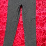 Серые базовые штаны от Zara с замками. Размер S , европейский 36 . Идет с замками по внутреннему ш