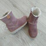 Фирменные сапоги,кожаные сапожки стильные Clarks.