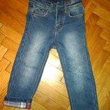 Джинсы 1-2 г. Denim теплые брюки штаны
